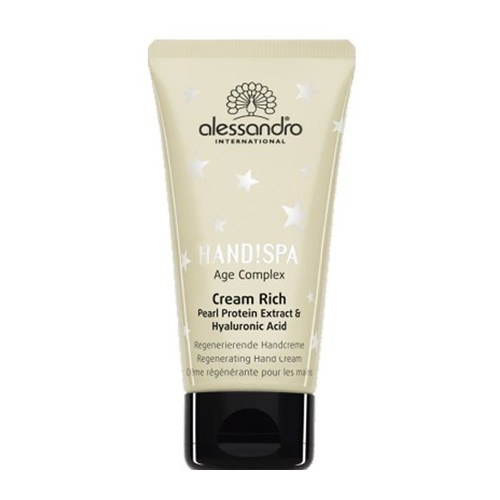 Afbeelding van Alessandro Hand!Spa Cream Rich Age Complex Pearl Protein Extract 125 ml