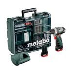 Metabo PowerMaxx BS Basic accu-boor/schroefmachine set