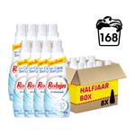 Robijn Klein & Krachtig Stralend Wit vloeibaar wasmiddel halfjaar box