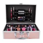 Make-up set rosa Koffer 42-teilig