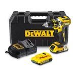 DeWalt DCD790D2-QW 18V 2x 2 Ah accu + T-Stak Box